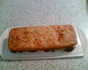 cake sale aux legumes