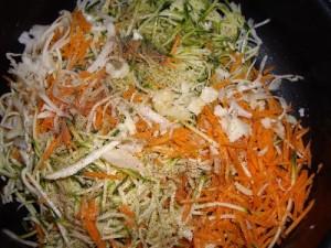 imgp1542 300x225 Cake aux Légumes et Crevettes