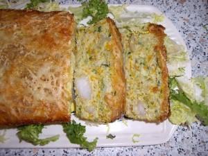 imgp1560 300x225 Cake aux Légumes et Crevettes