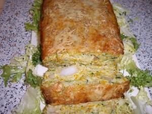 imgp1566 300x225 Cake aux Légumes et Crevettes