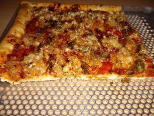 pizza carrée