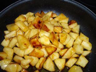 pomme caramélisée