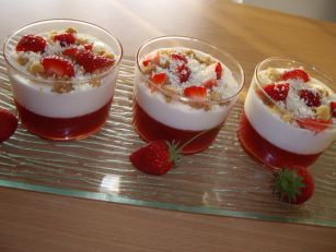 crumble fraise