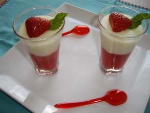 imgp4523 Gelée de chocolat blanc, Fraise et citron vert