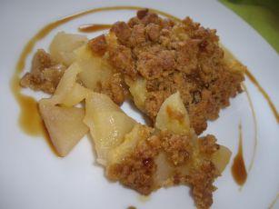 1 Crumble de Pommes au Sucre Complet de Canne