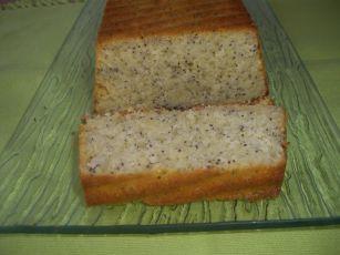 cake cirton pavot