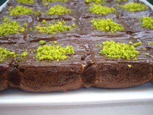 fondant chocolat pistache