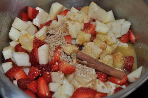 fruits aux épices