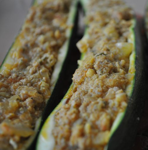 farce courgette