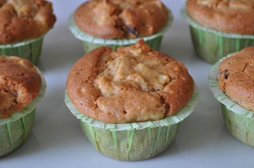 dsc 00231 Muffins Pommes Raisins