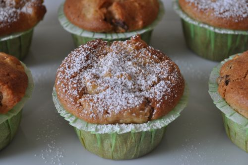 dsc 00271 Muffins Pommes Raisins