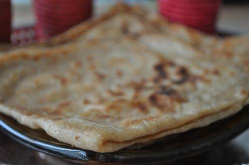 dsc 0026 Crêpes Marocaines à la Farine de blé complet