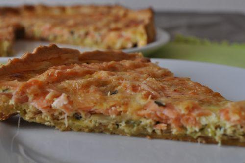 quiche poireaux saumon les recettes de la cuisine de asmaa