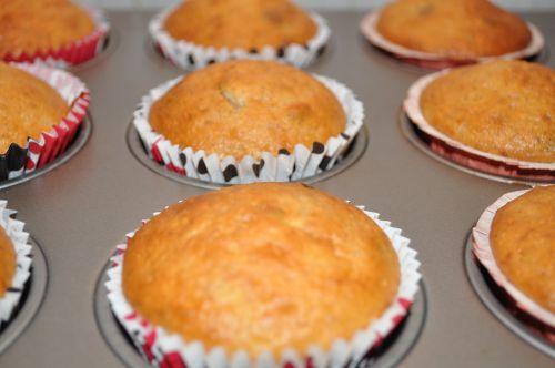 muffins miel raisins