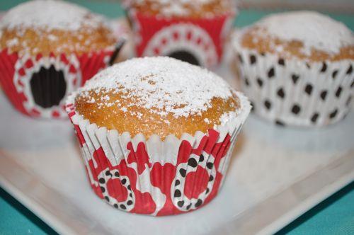 muffins miel bananes