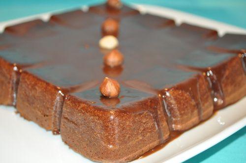 fondant chocolat noisettes