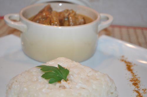 mijoté de veau au garam masala