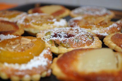 mini tarte frangipane fruit