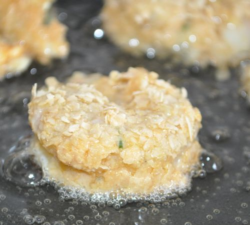 friture de crevettes