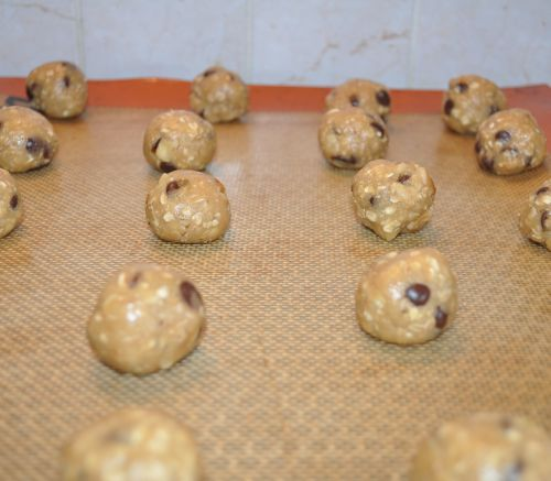cookies chocolat flocon d'avoine