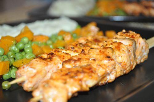 dsc 0074 Brochettes de saumon à la provençale