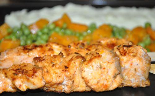 dsc 0077 Brochettes de saumon à la provençale