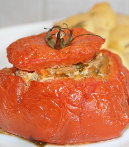 dsc 0056 Tomate farcie à la viande hachée
