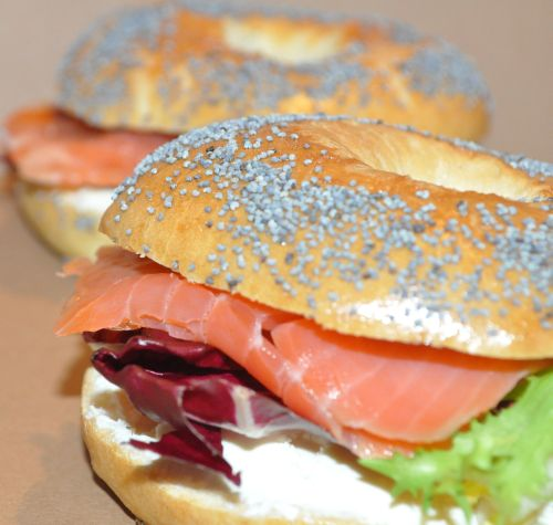 DSC 0109 Bagels au Saumon et Fromage frais