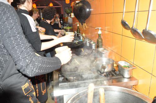omelette au wok