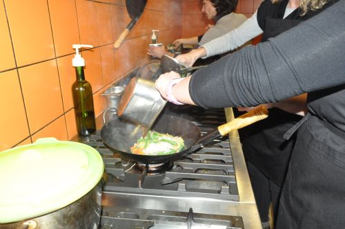 nouille au wok