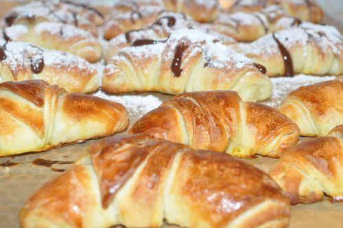 DSC 00071 Minis Croissants Briochés au Babeurre