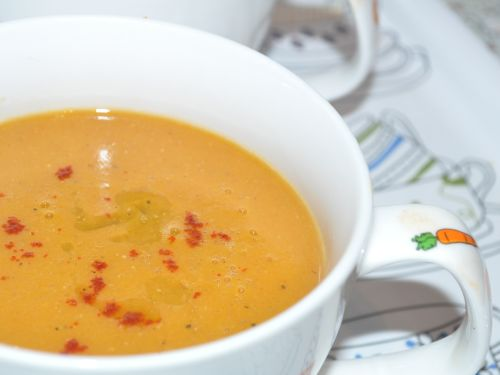 Soupe aux lentilles corail les recettes de la cuisine de - Cuisiner lentilles seches ...