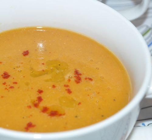 soupe au lentilles corail