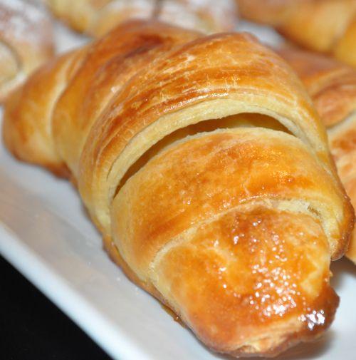 DSC 00231 Minis Croissants Briochés au Babeurre