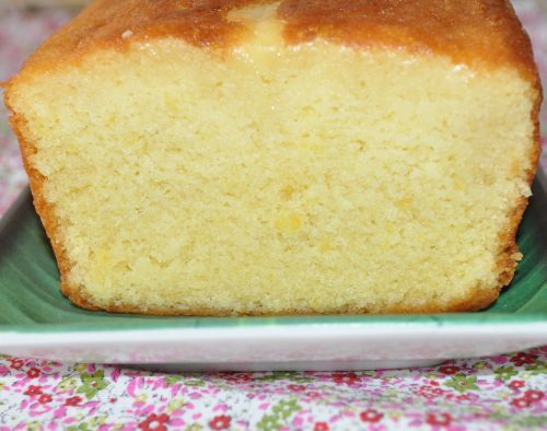 DSC 0032 Cake au citron de Pierre Hermé