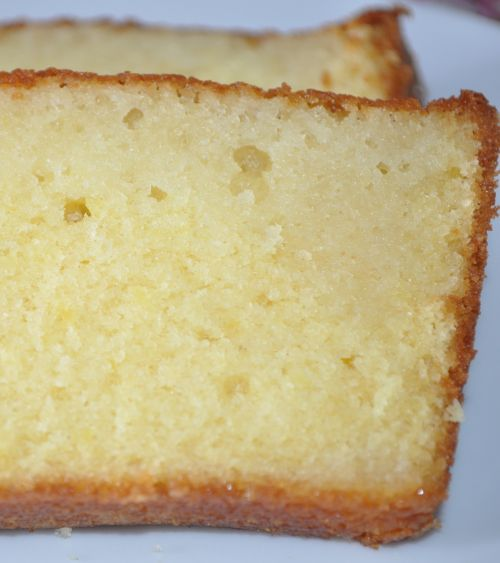 DSC 0044 Cake au citron de Pierre Hermé