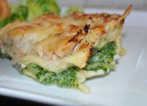 DSC 0020 Lasagnes au saumon et brocoli