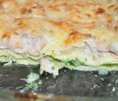 DSC 0024 Lasagnes au saumon et brocoli