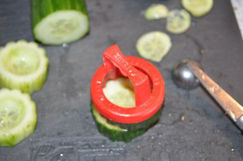 amuse bouche de concombre