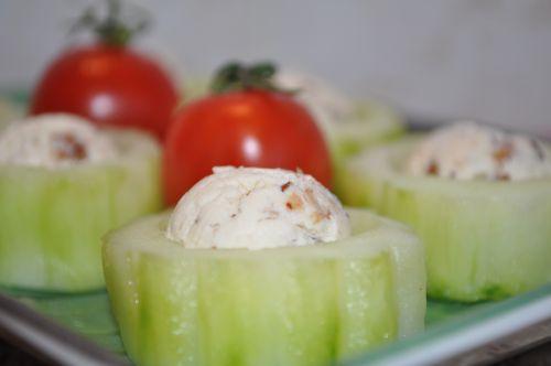 concombre au mascarpone de christophe felder