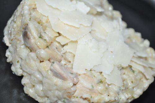 risotto de champignon