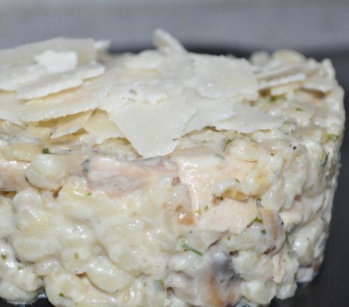 DSC 00871 Risotto dEbly au poulet et champignon