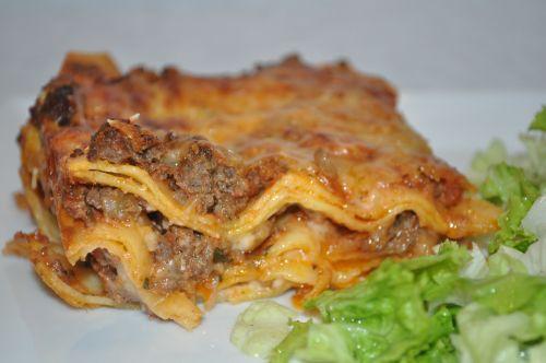 lasagne aux pates fraiche