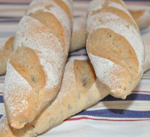 7 Baguettes complètes aux graines