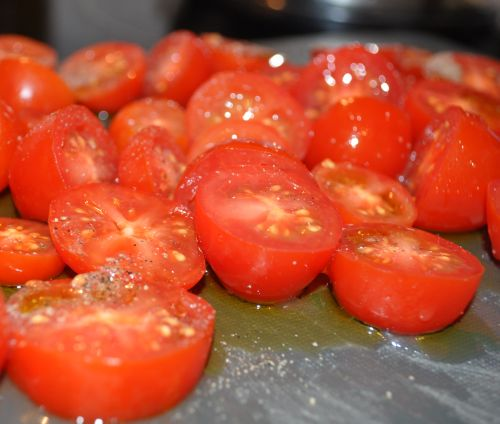 recette avec des tomates cerises