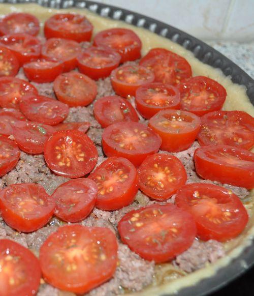 DSC 0014 Tarte aux tomates cerises