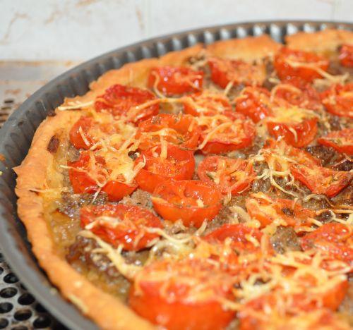 DSC 0019 Tarte aux tomates cerises