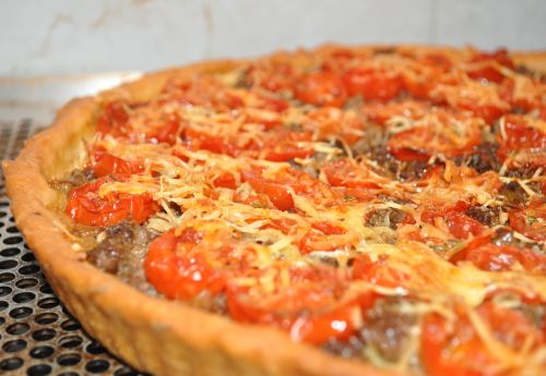 DSC 0025 Tarte aux tomates cerises