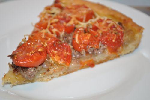 DSC 0031 Tarte aux tomates cerises