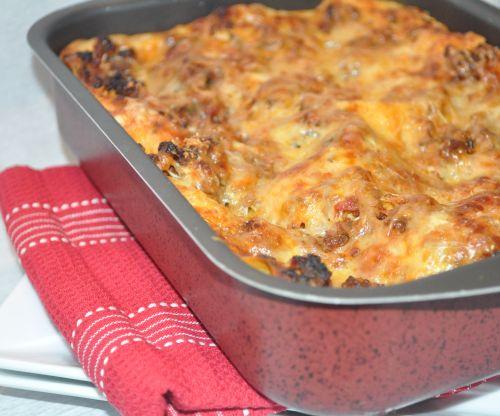 lasagne à la sauce bolognaise maison